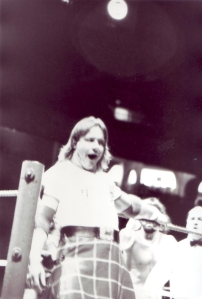 'Rowdy' Roddy Piper at the Saddledome 1987