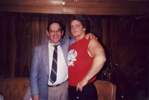 My Grandfather and Chris Benoit in 1986
