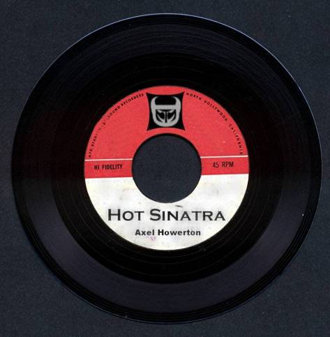 Original cover art for HOT SINATRA